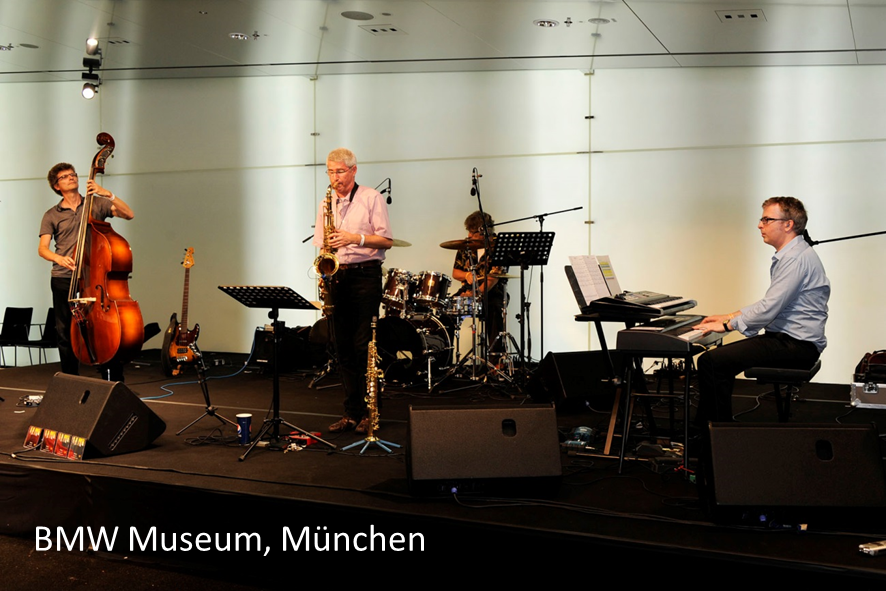 BMW Museum Muenchen auftrittstermine der jazzband mofazz