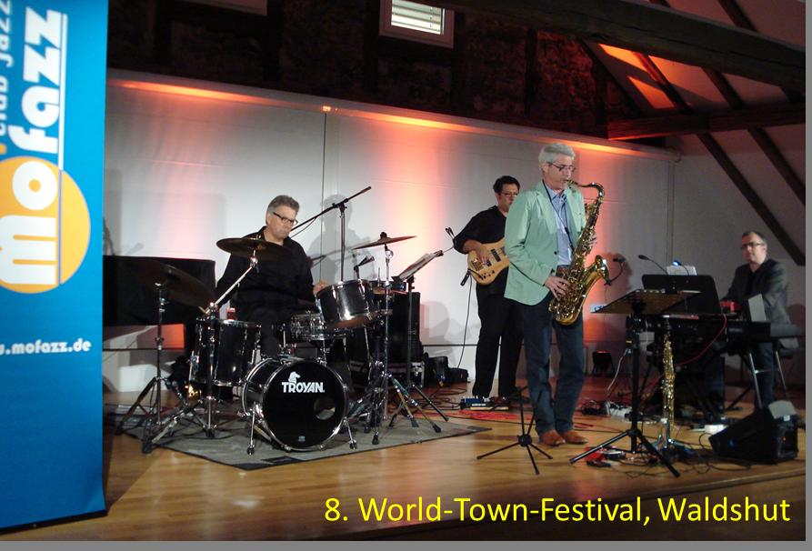 World-Town-Festival Tiengen Waldshut auftrittstermine der jazzband mofazz