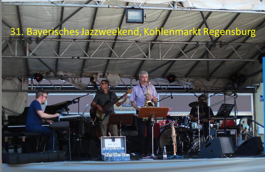 Bayerisches Jazzweekend Regensburg Kohlenmarkt auftrittstermine der jazzband mofazz