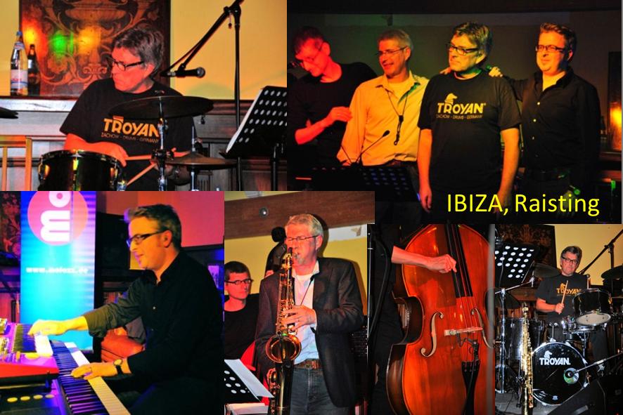 IBIZA Raisting auftrittstermine der jazzband mofazz