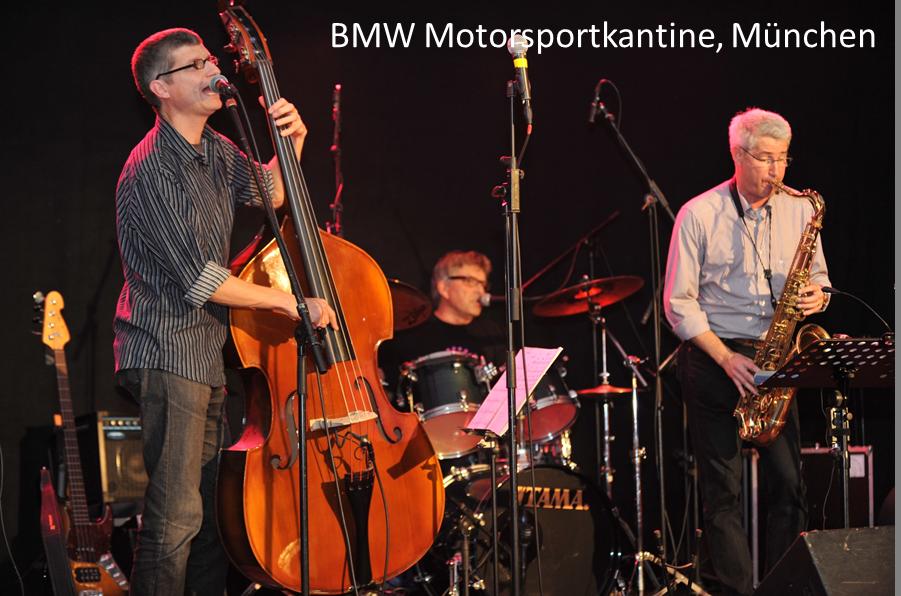 BMW Motorsportkantine München auftrittstermine der jazzband mofazz