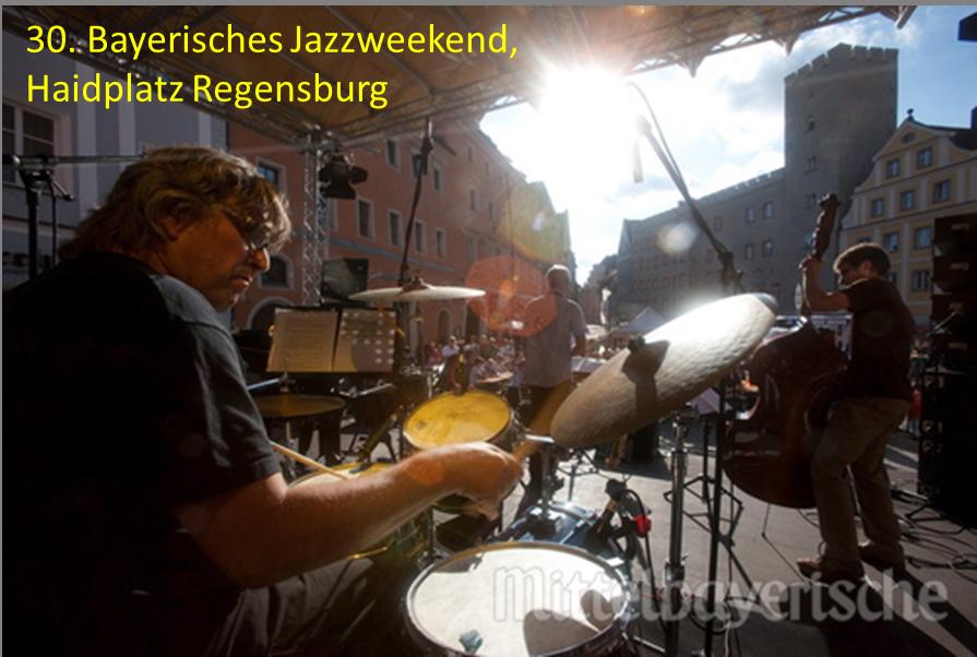 Bayerisches Jazzweekend Regensburg Haidplatz auftrittstermine der jazzband mofazz
