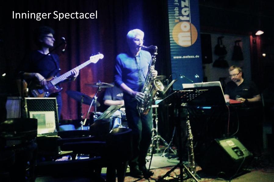 Inninger Spectacel -Inning Ammersee auftrittstermine der jazzband mofazz