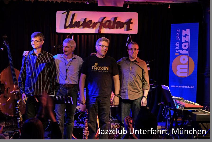 Unterfahrt München auftrittstermine der jazzband mofazz