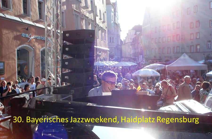Bayerisches Jazzweekend Regensburg auftrittstermine der jazzband mofazz