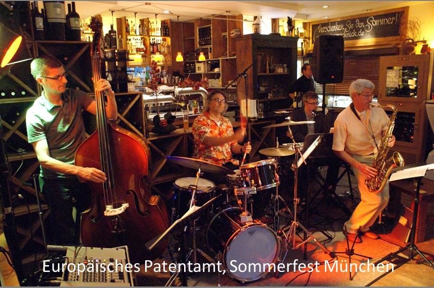 auftrittstermine der jazzband mofazz Europäisches Patentamt